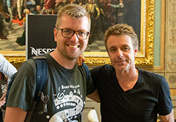 Anton links met Harry Gregson-Williams