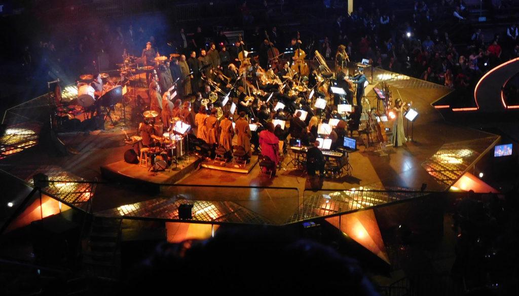 Djawadi dirigeert