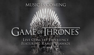 Game of Thrones concert logo