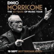 Ennio Morricone Ahoy Concert poster