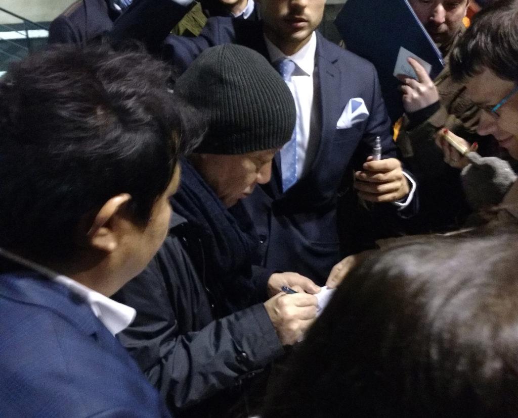 Hisaishi signeert