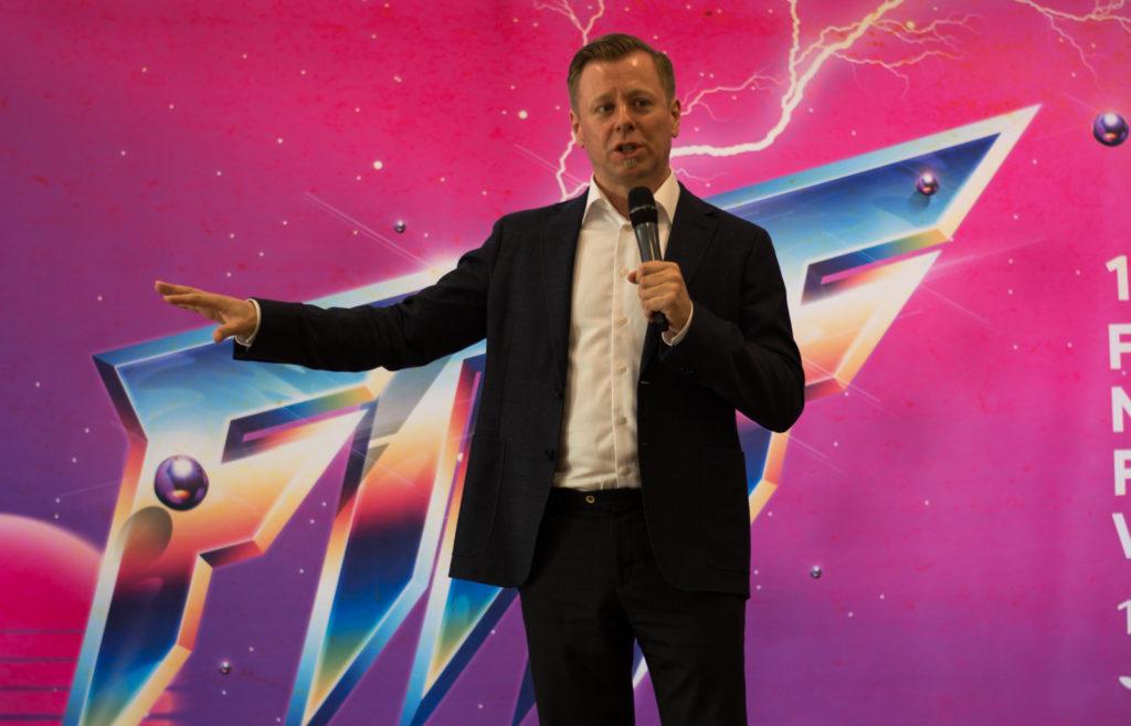 Abel Korzeniowski at FMF masterclass
