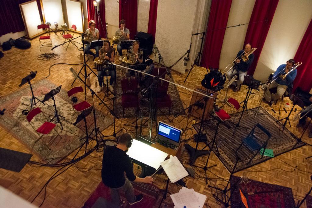 Opname Wild - Matthijs Kieboom dirigeert het koper
