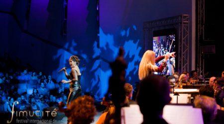 Cristina Ramos zingt tijdens Fimucité - (c) Fimucité