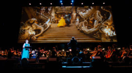 Beauty and the Beast tijdens FMF